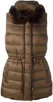 Yves Salomon reversible padded gilet