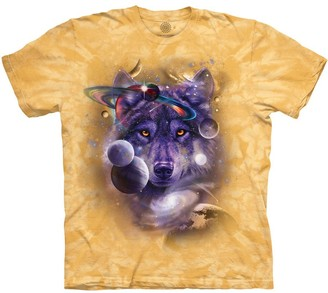 The Mountain Wolf of The Cosmos Adult T-Shirt