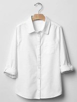 Gap Convertible stretch oxford shirt