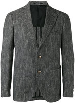 Tagliatore two button blazer - men - Cotton/Linen/Flax/Acrylic/Cupro - 46