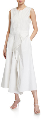 Christian Wijnants Damari Draped Seam Detail Dress