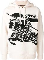 Burberry knight motif hoody