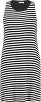 Splendid Striped stretch-knit mini dress