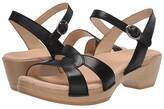 Dansko Karmen (Black Burnished Calf) Women's Shoes