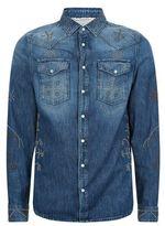 Valentino Studded Denim Shirt