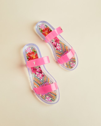Ted Baker JELLIIE Samba two strap jelly sandals