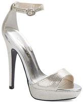 Betsey Johnson Tasha Open Toe Platform Stiletto Sandals
