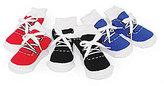 Mud Pie Baby Boys Game Time Sneaker Sock Set