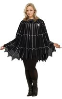 Fun World Costumes Spider Web Poncho Costume