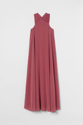 H&M Wide silk dress