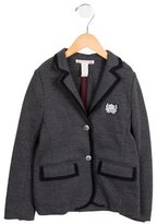 Bonpoint Girls' Notch-Lapel Wool-Blend Blazer