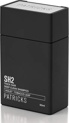 Patricks Universal Exports SH2 Deep Clean Shampoo Travel Size, 2.0 oz./ 60 mL