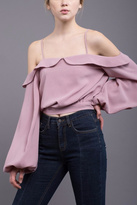 J.o.a. Cold Shoulder Blouse