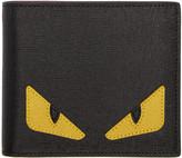 Fendi Black 'Bag Bug' Wallet