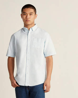 Farah Button-Down Pocket Short Sleeve Sport Shirt