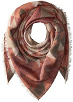 Steve Madden Kaleidoscope Jacquard Blanket Wrap