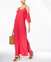 NY Collection Off-The-Shoulder Maxi Dress