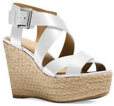 MICHAEL Michael Kors Celia Leather Wedge Sandals