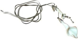 Les Nereides White Metal Long necklaces