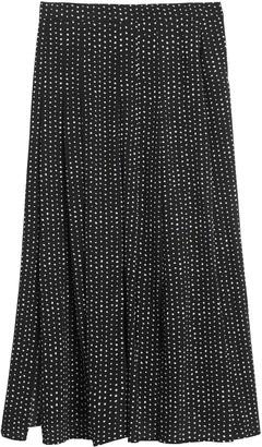 Banana Republic Pleated Midi Skirt