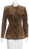 Givenchy Vintage Leopard Print Jacket