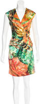 Roberto Cavalli Printed Mini Dress