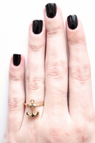 Bing Bang Anchor Ring in Yellow Gold