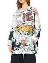 Silvian Heach Women's Sweatshirt Mogak Sports Hoodie