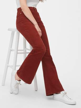 Gap ';70s Pioneer High Rise Flare Cords