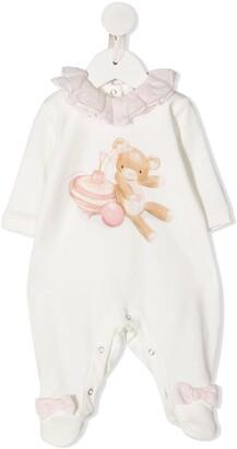 MonnaLisa Bear-Print Pyjamas