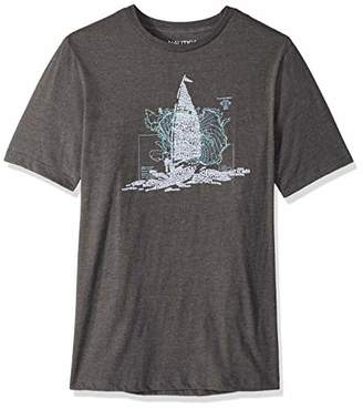 Nautica Men's Big and Tall Oceanographic Short Sleeve T-Shirt