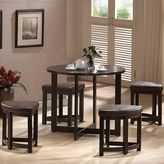 Baxton Studio Rochester Bar Table & Stool 5-piece Set