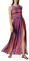 Karen Millen Multicolor Stripe Maxi Dress