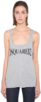 DSQUARED2 Cotton Jersey Tank Top