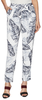 Style Stalker Palm Spring Print Side Slip Pant