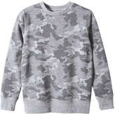Joe Fresh Kid Boys' Crew Neck Sweater, Light Grey Mix (Size S)