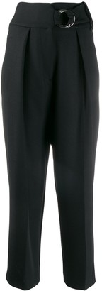 Cavallini Erika high waisted straight leg trousers