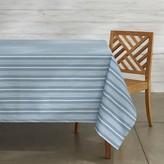 Williams-Sonoma Williams Sonoma Striped Oilcloth Outdoor Tablecloth
