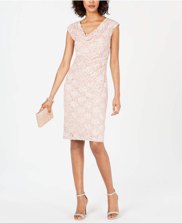 24357be03941 Nude Sheath Dress - ShopStyle