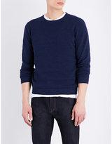 Calvin Klein Sawart Knitted Cotton Jumper