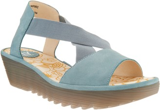 Fly London Gored Cross-Band Wedges - Rale