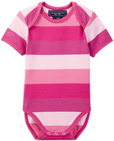 Toobydoo Pink Multi-Striped Bodysuit (Baby Girls)