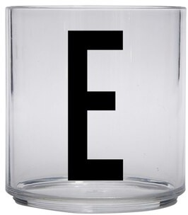 Design Letters Baby Personal Tritan Drinking Glass - E