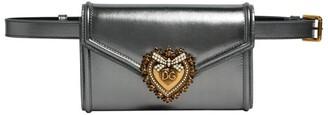 Dolce & Gabbana Leather Devotion Belt Bag