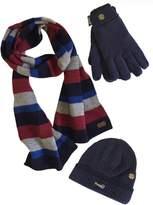 VEDONEIRE Mens Hat Scarf Gloves Set
