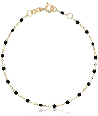 Gigi Clozeau 18k Yellow Gold Black Beaded Bracelet