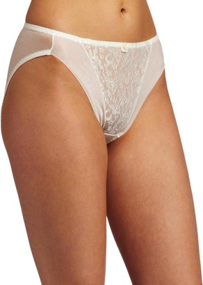 Carnival Womens High Cut Lace Bikini Panty
