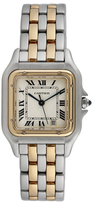 Cartier Vintage Panthere 18K Yellow Gold & Stainless Steel Watch, 36mm x 26mm