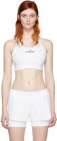 adidas by Stella McCartney White Pull-On Bra