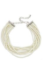 Kenneth Jay Lane Layered Choker Necklace